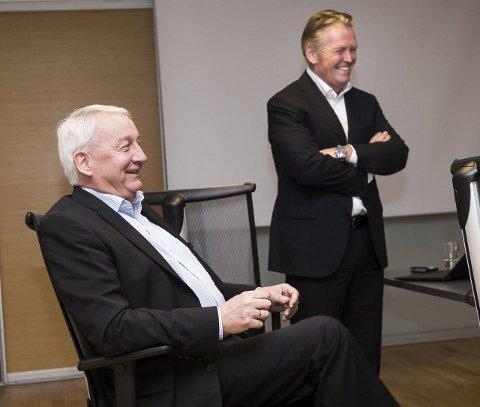 Dropper Pensjon: Jan Pettersen (67) (t.v.) skulle egentlig gå av med pensjon etter 38 år i BOS, men blir i stedet ny sjef for Citroën.