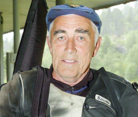 Vant: Harald Buuer fra Spydeberg skytterlag skjøt seg helt til topps i veteran 65 foran klubbkamerat Steinar Walle. ARKIVFOTO