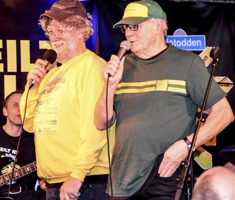 Heilt Nils: Fredagens premiere på Teledølen samlet fullt hus og mye latter, og et gjensyn med Tommy Ronny og Ken som begynner å dra veldig på åra.