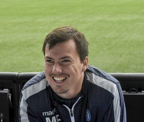 STOLT: Magnus Erga er stolt av laget som ga alt på den våte naturgressmatten i Egersund. Det endte med 3-0-tap i sesongens første bortekamp.