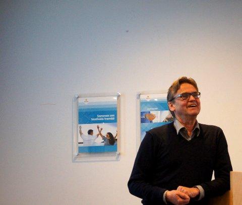 MÅ SKIFTE FOKUS: Erik Hammer fra Grønn Byggallianse trekker fram mentale barrierer som det viktigste hinderet for å skape en grønn byggebransje.