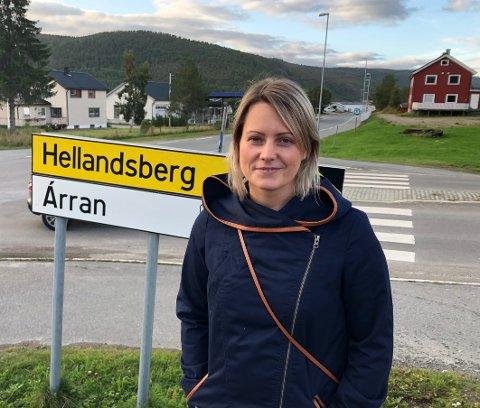 Kan smile: Endelig kan Eva Iselin Solstrøm smile igjen. Hun er lovet en snarlig jobbavklaring.