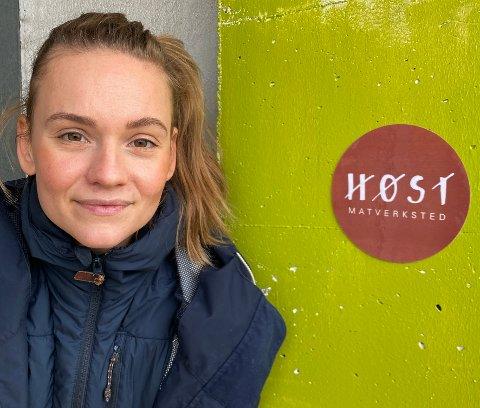 Frihet: – Etableringen av Høst Matverksted vil etter hvert gi meg større frihet til å styre min egen tid og hverdag., sier Astrid Nässlander.