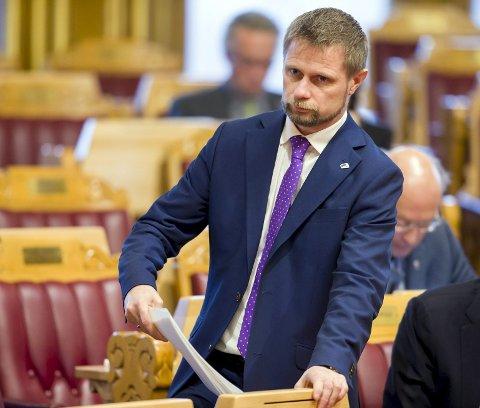 Helseminister Bent Høie (H) får en svært vanskelig jobb når helsevesenet overtar ansvar for rusmidler.foto: Cornelius poppe, ntb
