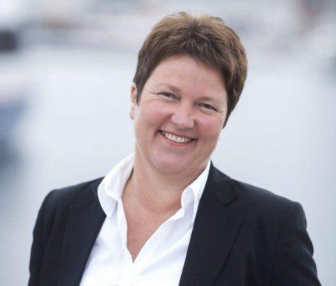 SJEFEN: Ingrid Kaasen er dagleg leiar i lakseeksportselskapet Norwell AS. Ho fekk 1.657.977 kroner for denne jobben i fjor.