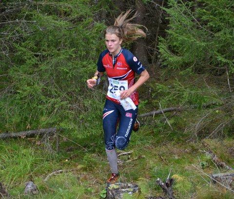 Marie Olaussen skal løpe midtetappen på NM-stafetten.