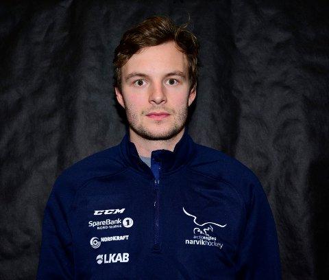 Jonatan Wik forlater Narvik Hockey.