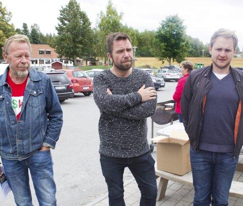 SIER NEI: Per Nordheim (SV, til venstre) bekymrer seg for kommuneskogene mens Lasse Juliussen (Ap, til høyre) mener fysisk nærhet til kommunesenteret er viktig.