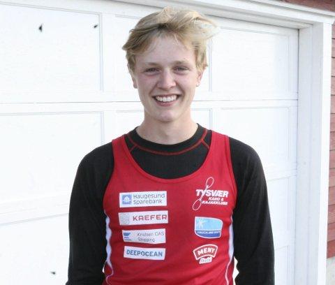 FOR ANDRE ÅR PÅ RAD: Sander Askeland (15) skal representere Norge i nordiske mesterskap i padling for andre år på rad.