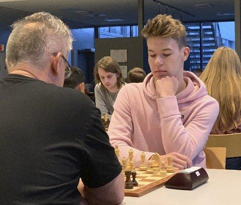 RANKINGHOPP:  Tobias Gotaas gjorde sin beste turnering og vant klasse 4. Han gjorde også et hopp på rankingen etter sin gode innsats.  Foto: privat