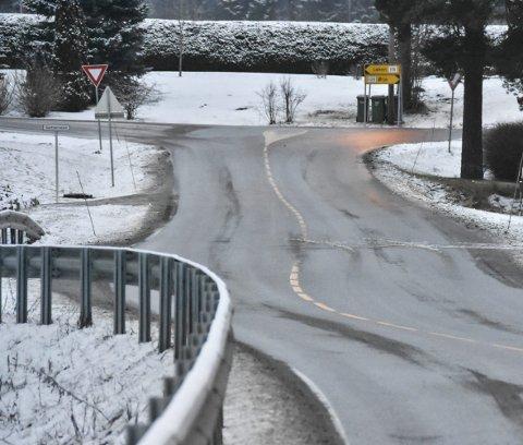 SKJØVET UT: Gang- og sykkelvei mellom Furulund og Hemnes sentrum er utsatt.