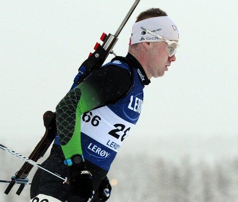 Martin Femsteinevik både skaut bra og gjekk fort då han var med og kjempa om sigeren i årets første norgescuprenn.