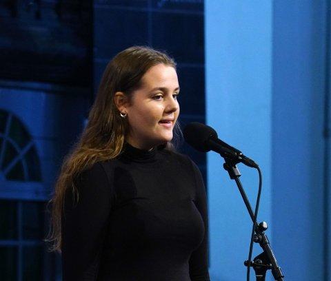 Fikk pris: Birgitte Frihagen Tveiten ble tildelt Jonas B. Gundersens musikkpris for 2019.