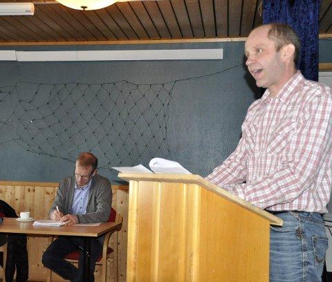 Nasjonalpark: Trond Kroken (Sp) er positiv til nasjonalpark. – Flakstad og Moskenes bør ha felles standpunkt.