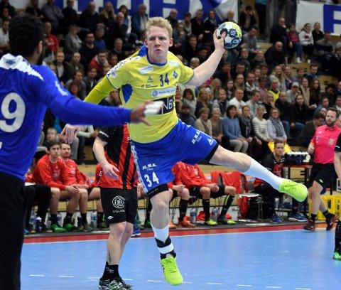 VM-KLAR: Kevin Gulliksen er tatt ut til troppen som skal spille VM i Danmark/Tyskland.