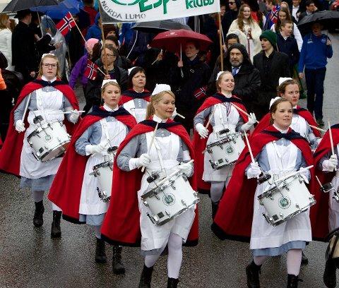 KORPSLIG: Tromsøs janitsjarkorps skal marsjere sammen med barna i småbarnstoget.