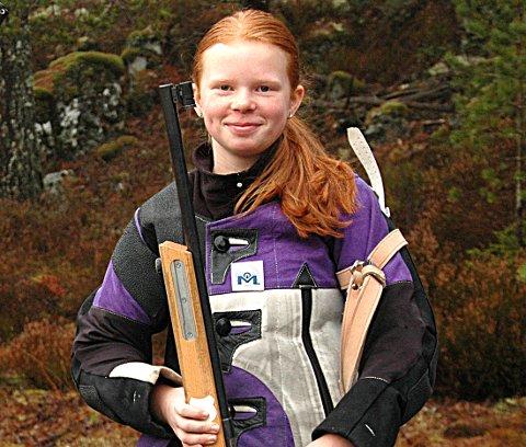 VANT: Kaja Elise Hyllestad slo til med 348 poeng og seier i Sarpsborg-stevnet.
