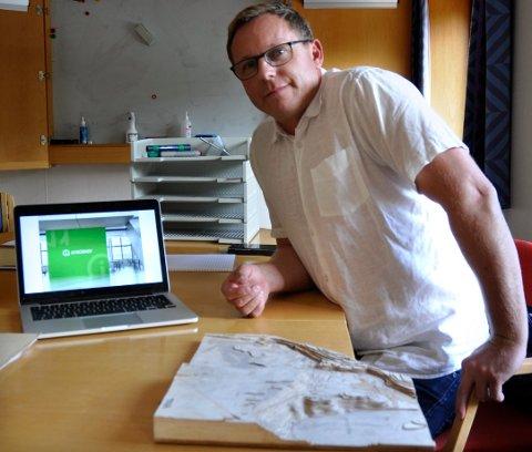Datasenter: Kristian Osestad er opptatt med å sikre drift av datasenter på Viul, men har ikke mulighet til å ha en dialog om framdriften i media.