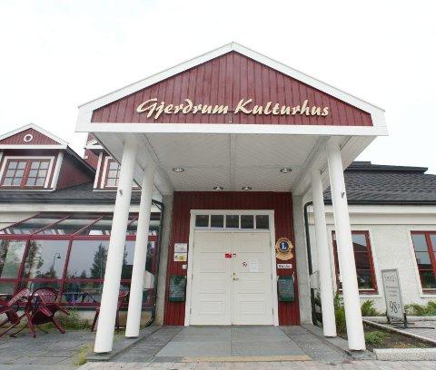 Viktig hus: Gjerdrum kulturhus på Ask har mange andelseiere. Nå kan det gå mot kommunal overtakelse. FOTO: tom gustavsen