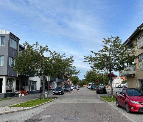 MÅ ALL BUSSTRAFIKKEN GÅ VIA FILA?: Det er et av spørsmålene beboere i sentrum spør seg.