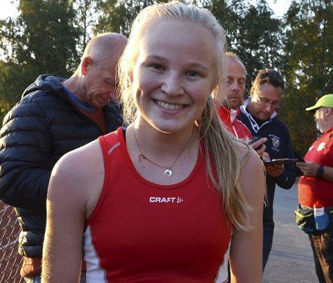 SUVEREN: Den ferske flerdobbelte norgesmesteren Mari Andreassen Rud vant kvinneklassen i utklassingsstil på ny løyperekord 22,56 minutter.