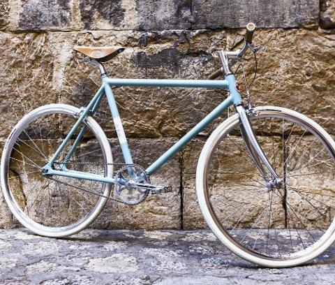 SYKKELEN: Speed ONE ble lansert i går, en serie med nummerte sykler fra 1 til 91.