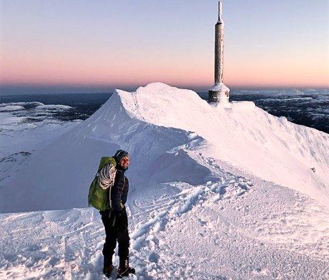 GAUSTATOPPEN: I vinterferien har du mulighet til å bli med Merethe Falkum Lien fra Tracks of Telemark, på trugetur til Gaustatoppen