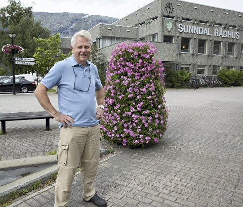 Arne Drøpping, 1. kandidat Sunndal KrF