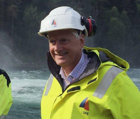 Johannes Rauboti - konserndirektør i SFE.