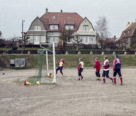 DET VAR EN GANG: Dette bildet er tatt Cicignons staute fotballgutter i 1998.Foto: Jørgen Michalsen