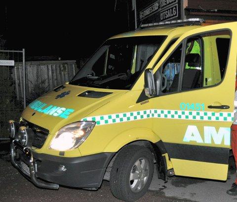 INGEN VENTET: Da ambulansen kom fram til den alvorlig syke pasienten i Horten, hadde sykepleieren fra hjemmesykepleien dratt fra stedet og latt pasienten ligge igjen alene.