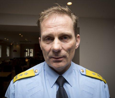 Fordeler nye stillinger: Politimester Johan Brekke i Innlandet politidistrikt.
