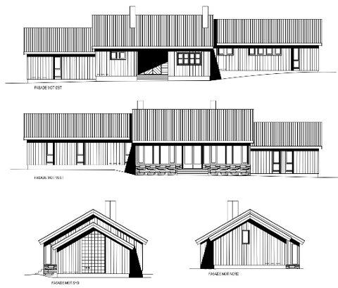 HER ER DRONNNINGSETRA: DNT Gudbrandsdalen bygger sin første hytte. Den skal bygges ved Strålvatnet i Nord-Fron. Målet er å bygge hytta i løpet av neste år.