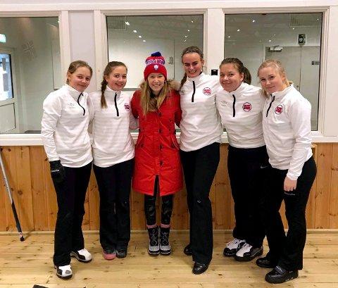 Det var stas for juniorlaget til Lillehammer CK å hilse på en OL-vinner Kaitlyn Lawes før hun reiste til OL. Nå vender hun tilbake.