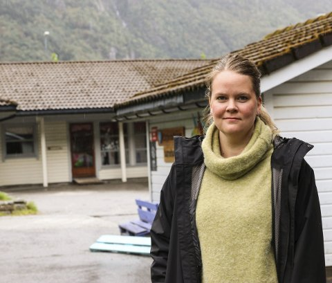 Reagerer: Foreldregruppa ved Eitrheimsvågen barnehage starta spleiseaksjon på nett for å få midlar til å ruste opp barnehagen.Foto: Inga Øygard Jaastad