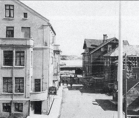 Nybygg: Annekset (tv) i mur ble bygd i 1914 og Rødsand flyttet inn i 1916.