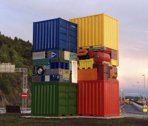 KUNST: Laget av svenske Michael Johansson. FOTO: Oslo Havn