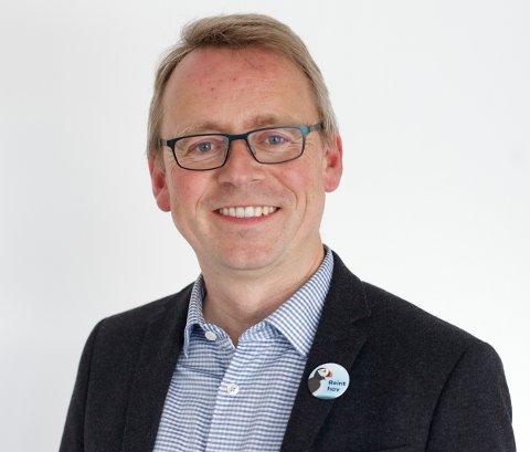 VENSTRE: Morten Skandfer er toppkandidaten på Venstres liste i Troms. Foto: Ola Solvang