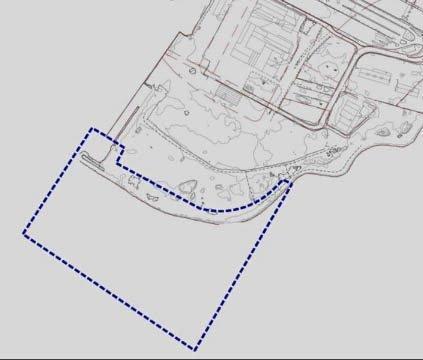 Foreløpig forslag: Slik ser det foreløpige forslaget til planavgrensning ut.Illustrasjon: Larvik Havn