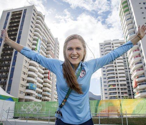 STADIG BEDRE: OL i Rio blir Ingeborg Løvnes' tredje store mesterskap som senior. Mye har skjedd siden debuten i 2014, EM i Zürich (bildet). Det langsiktige målet er OL i 2020. BEGGE Foto: NTB scanpix