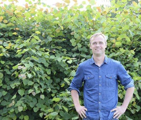 Tredjekandidat: Får KrF 16 stemmer flere enn sist valg, kan Anders Rambekk bli valgt inn i politikken.foto: roar hushagen