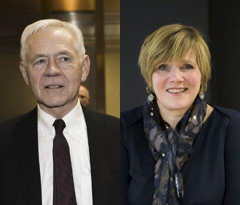 Ny bok: Victor D. Norman og Christine Meyer har skrevet boken «Ikke for å konkurrere sammen. Boken lanseres i dag.Foto: Scanpix