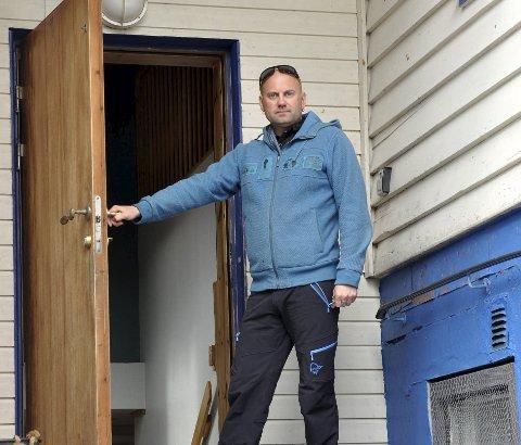 GRÜNDER OG POLITIKER: Leder i Nordkapp Senterparti, Hugo Salamonsen.