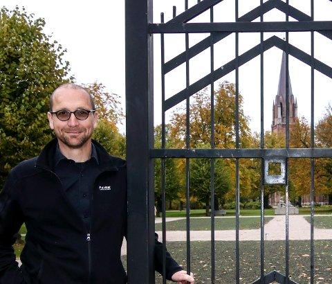 Liten messe: Tore Erik Mohn dirigerer den lille orgelmessen søndag.