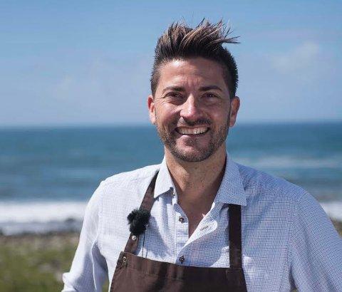 Kokken Daniel Rougé Madsen ser fram mot høsten, men fikk nok. gjøre i fjor tross at det ene firmaet hans måtte ta pause i driften.