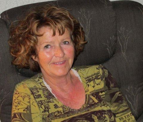 SAVNET: 68 år gamle Anne-Elisabeth Falkevik Hagen.
