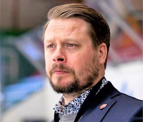 AMBISIØS: Comets nye trener Fredrik Glader gleder seg til nye eventyr i Halden og norsk ishockey.