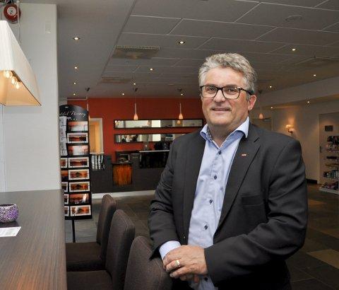TRIST DAG: Regiondirektør Knut Sigurd Pettersen er regiondirektør for Scandic i Nord-Norge. I dag, tirsdag, måtte han gi beskjed om at hotellkjeden skal si opp 46 ansatte rundt om i fylket.