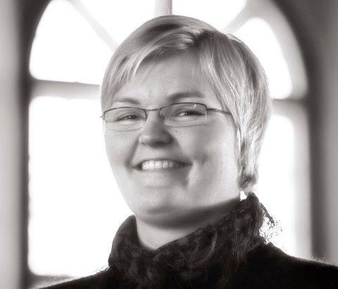 FORNØYD: Inger-Johanne Frogh, diakon og lokal Kirkens Nødhjelp-kontakt.