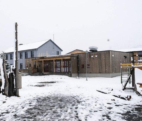 Sentral: Eltoft montessoriskole er et sentralt samlingspunkt i bygda. Nylig er også den bygd ut til skolestarten i fjor høst.